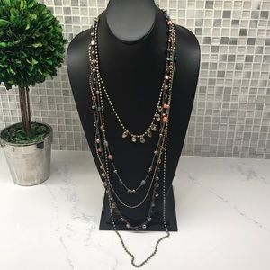 Uno De 50 (J) Call Me Rocio Beaded Multi Strand